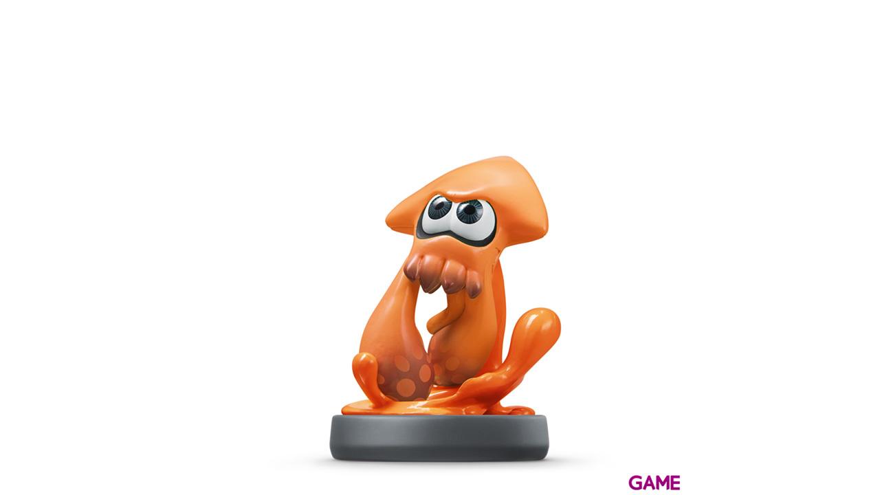 Figura Amiibo Splatoon Calamar Naranja