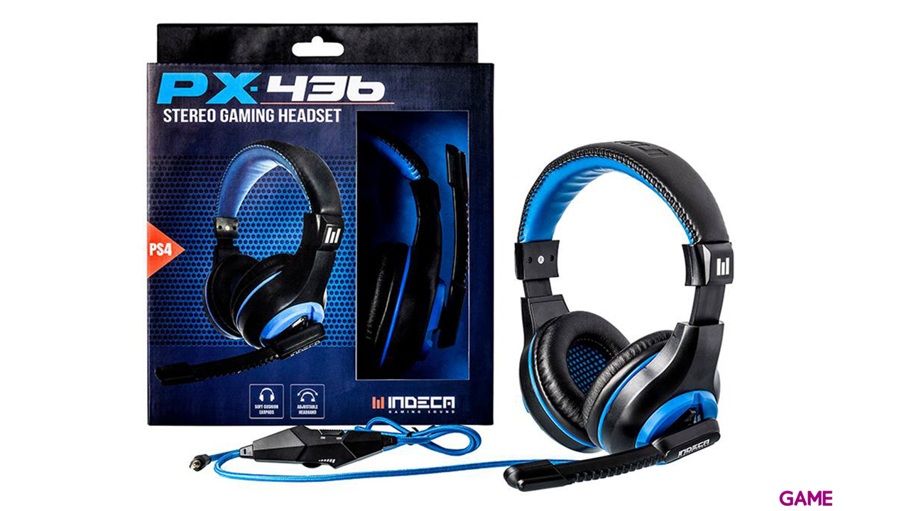 Auriculares Indeca PX436