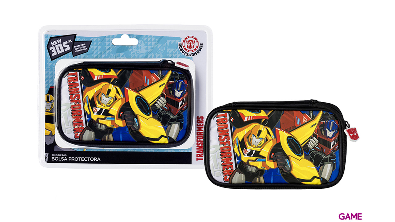 Bolsa New3DS-3DSXL Transformers