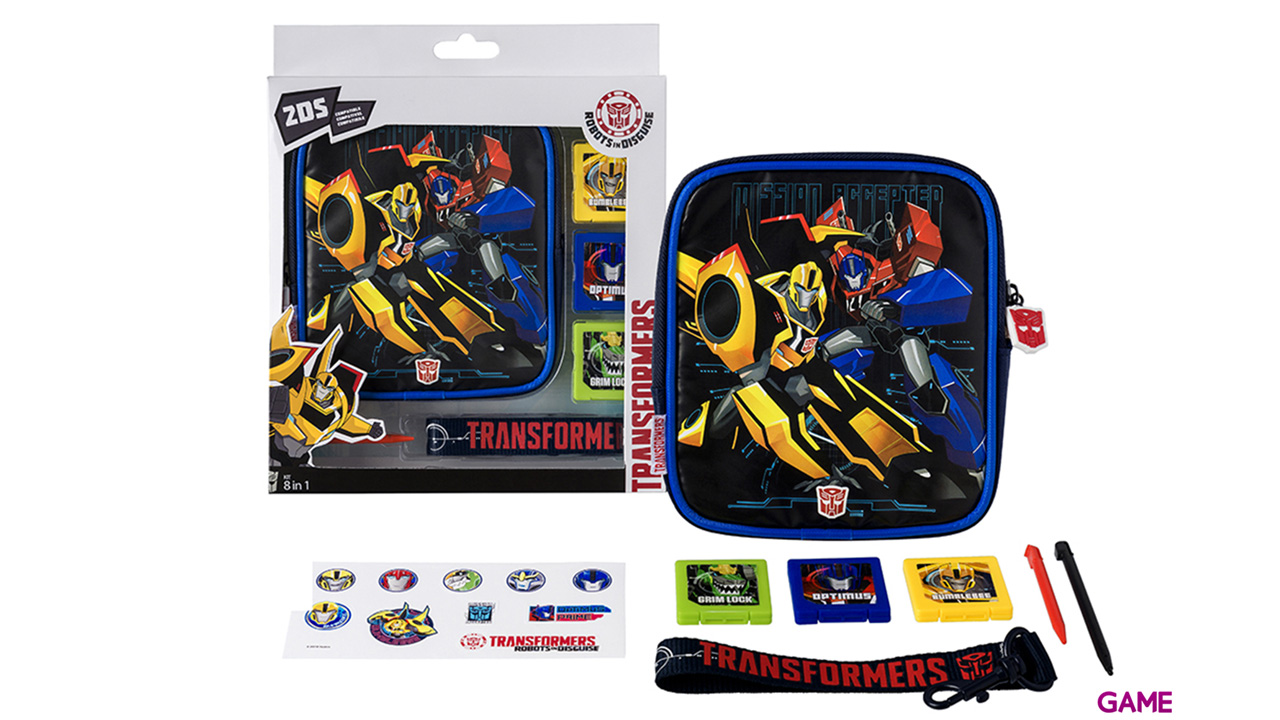 Kit 8 Accesorios 2DS Transformers