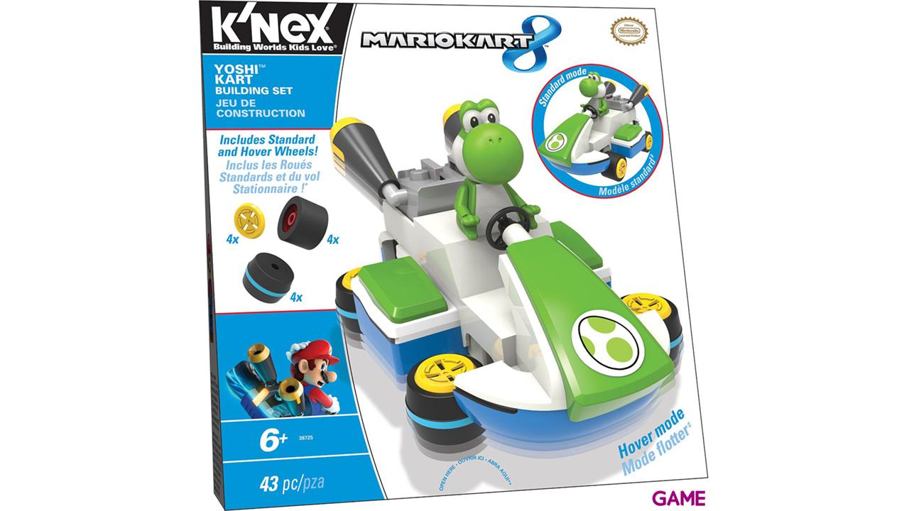 Figura Mario Kart 8 KNEX: Yoshi