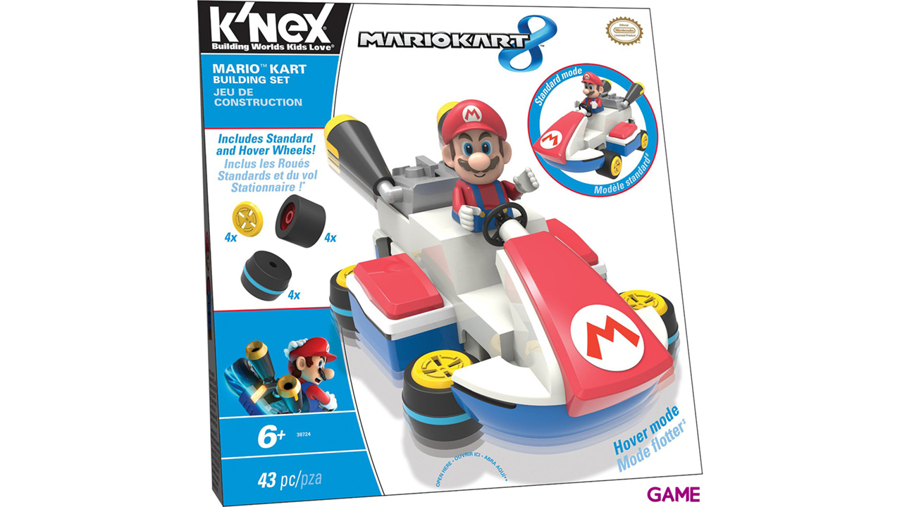 Figura Mario Kart 8 KNEX: Mario