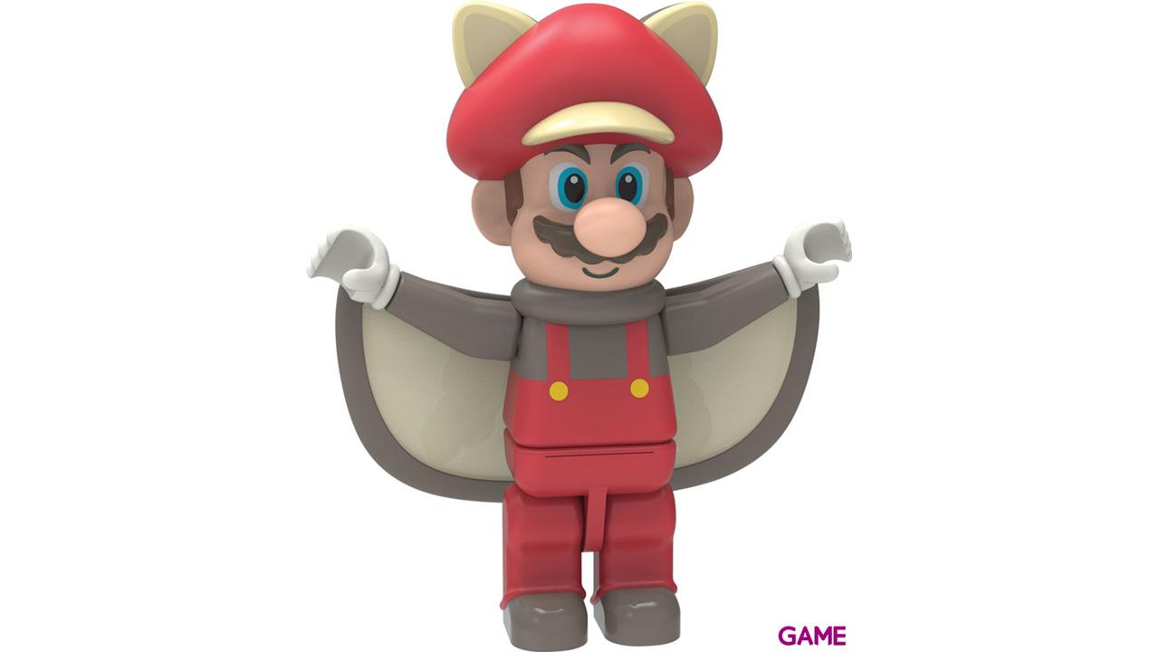 Pack de 3 Figuras Mario KNEX: Flying Squirrel Mario