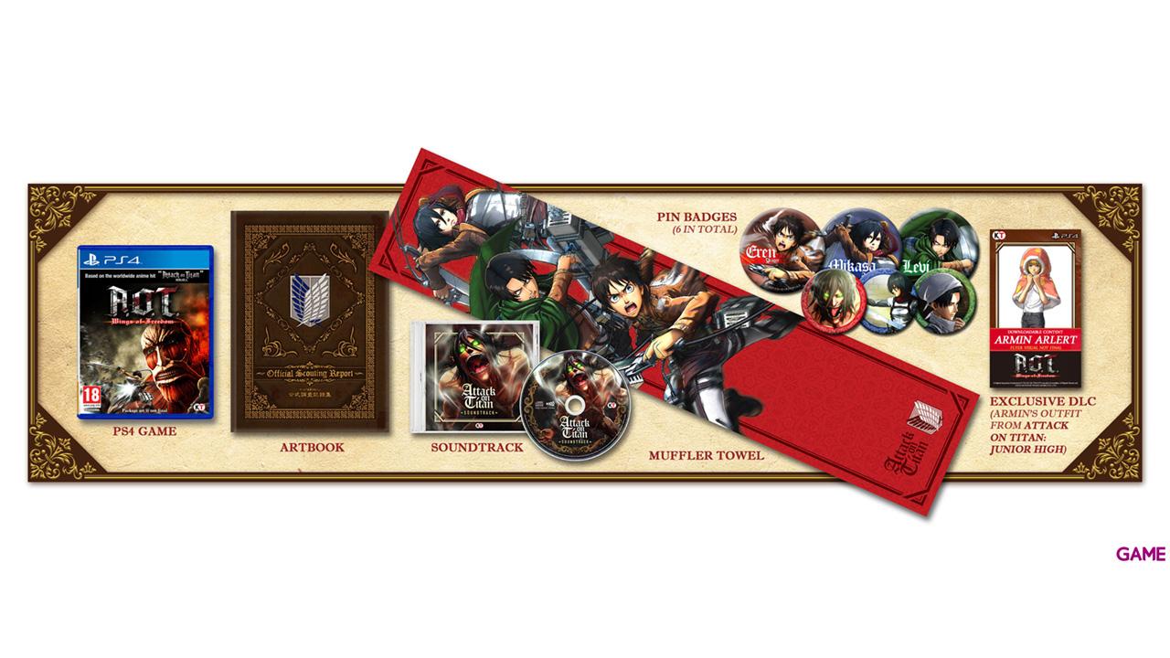 Ataque a los Titanes: Wings of Freedom Treasure Box