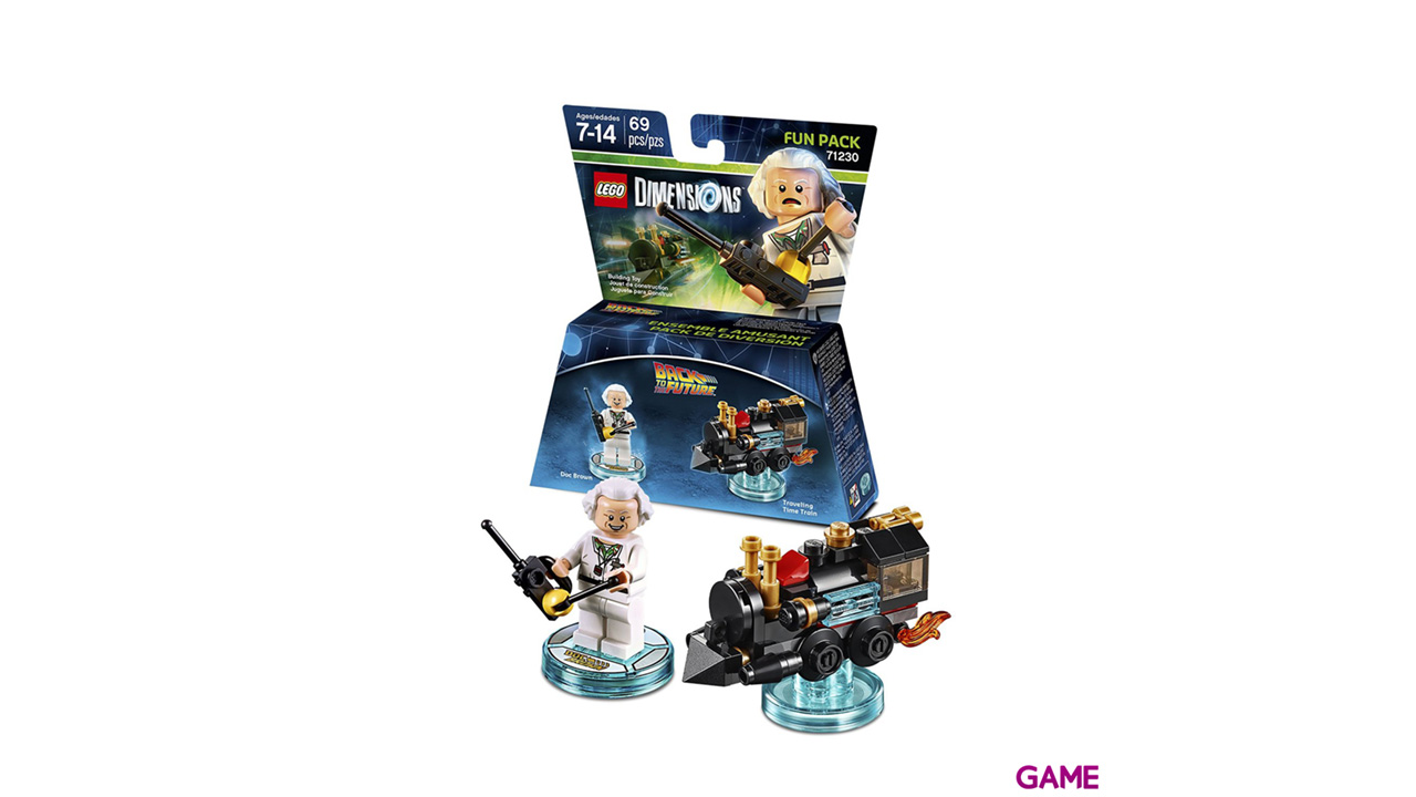 LEGO Dimensions Fun Pack: Regreso al Futuro Doc Brown