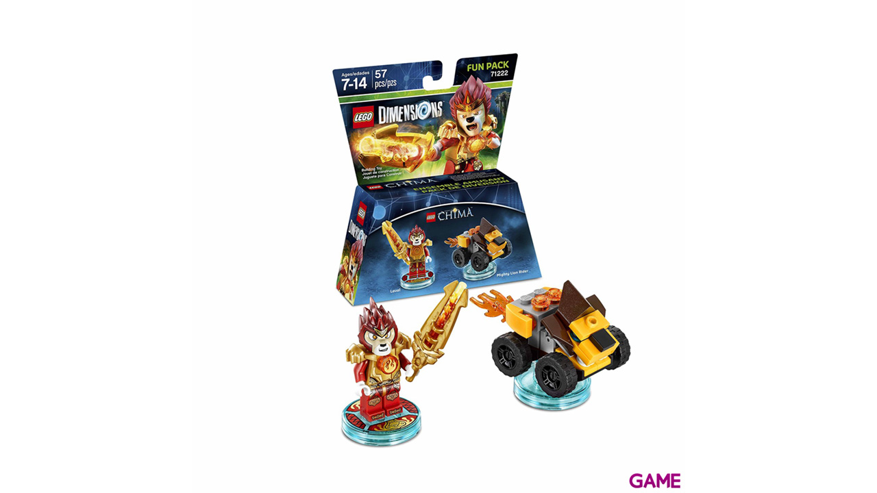 LEGO Dimensions Fun Pack: Chima Laval