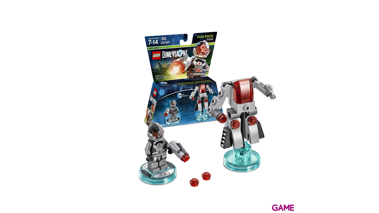 LEGO Dimensions Fun Pack: DC Cyborg