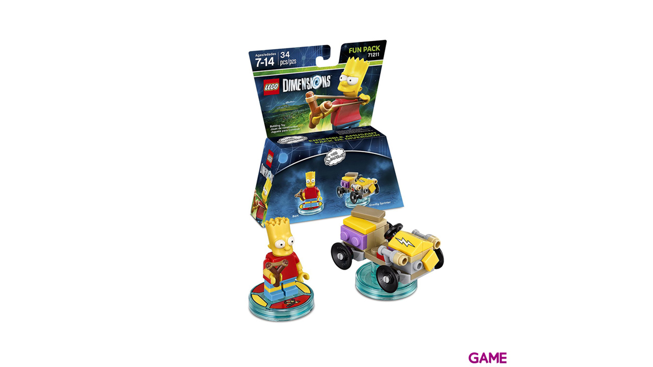 LEGO Dimensions Fun Pack: Los Simpson Bart