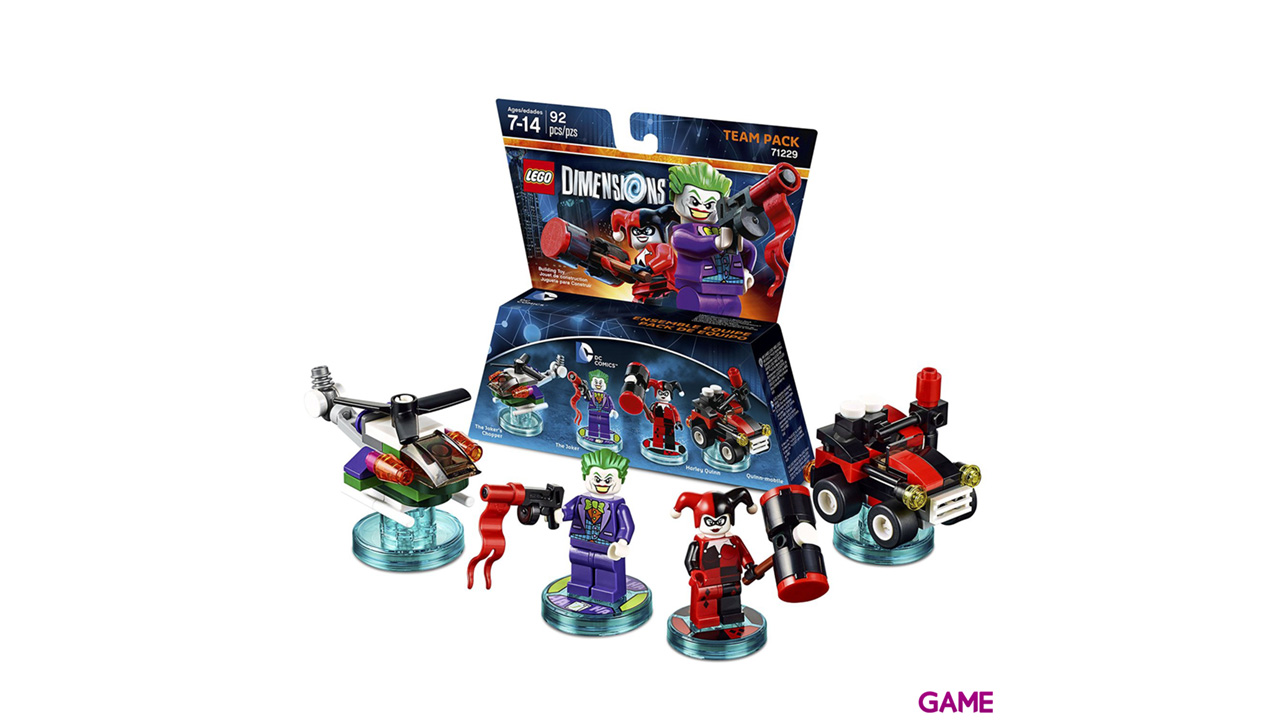 LEGO Dimensions Team Pack: DC Comics