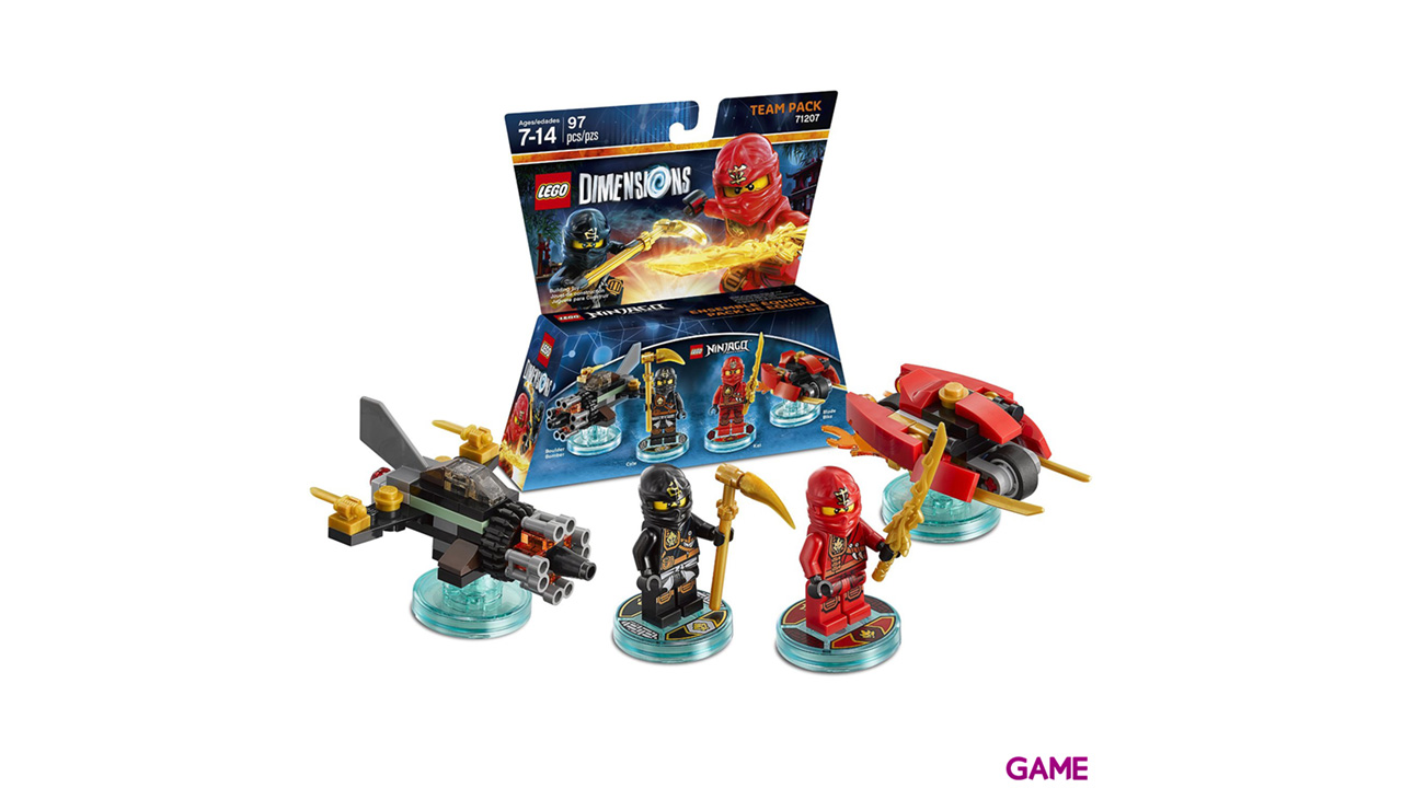 LEGO Dimensions Team Pack: Ninjago