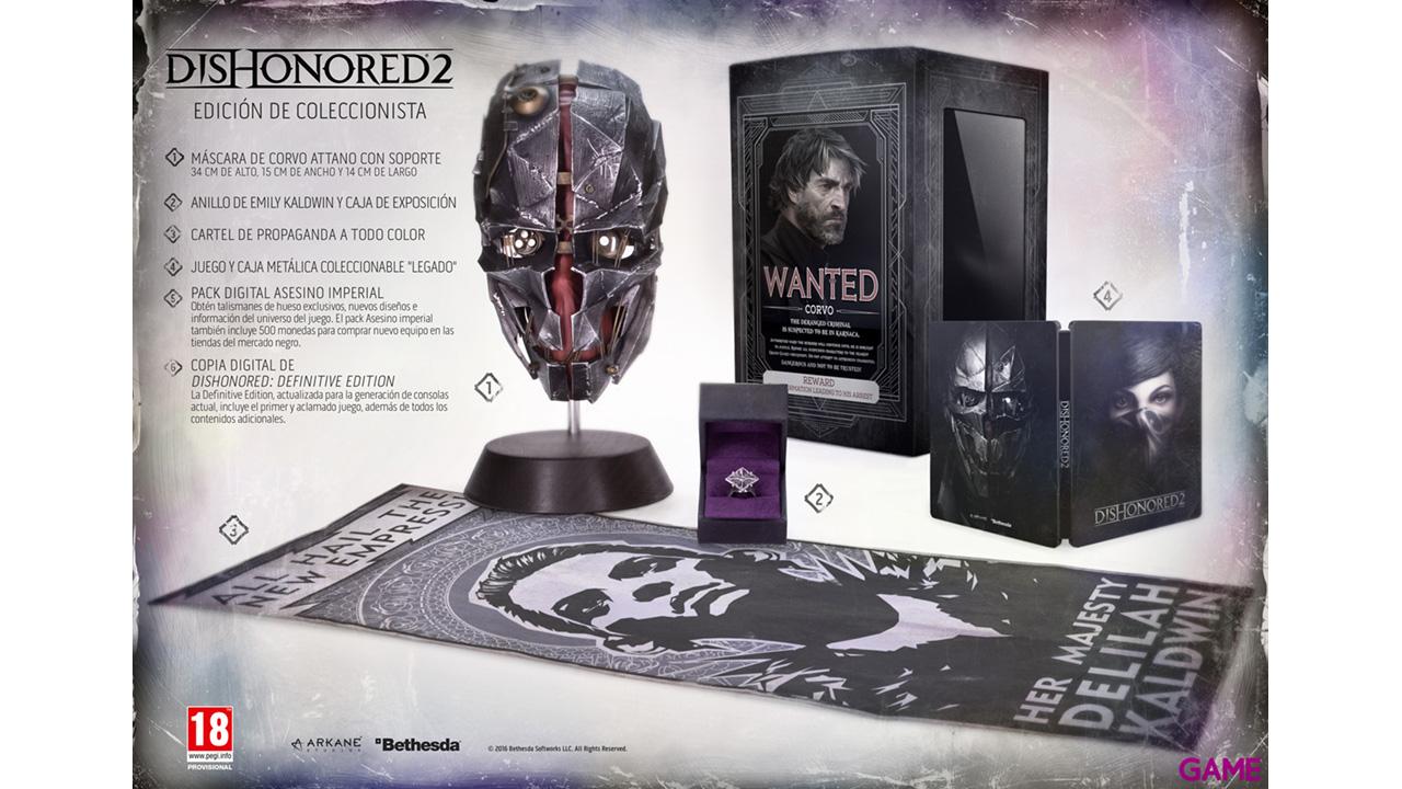 Dishonored 2 Edición Coleccionista