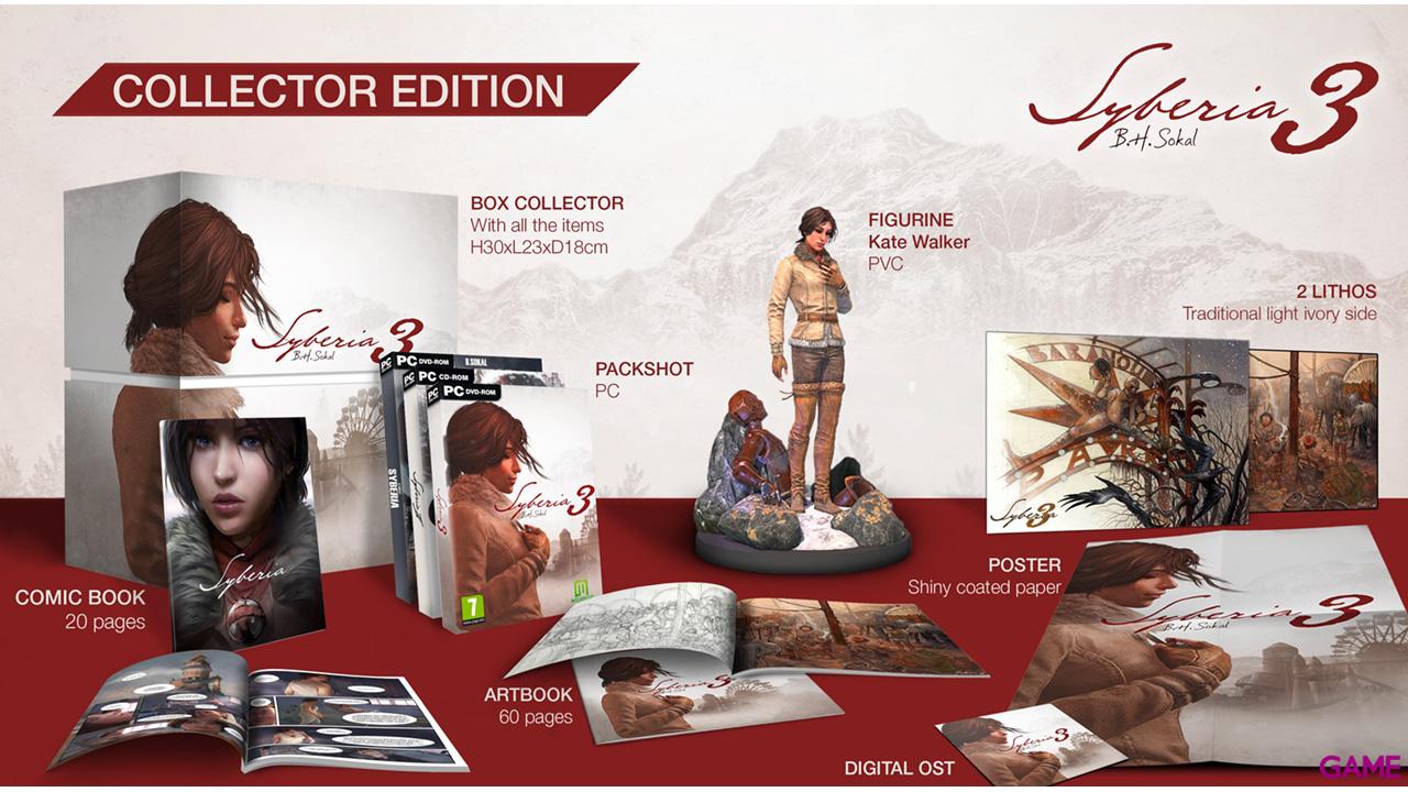 Syberia 3 Edición Coleccionista
