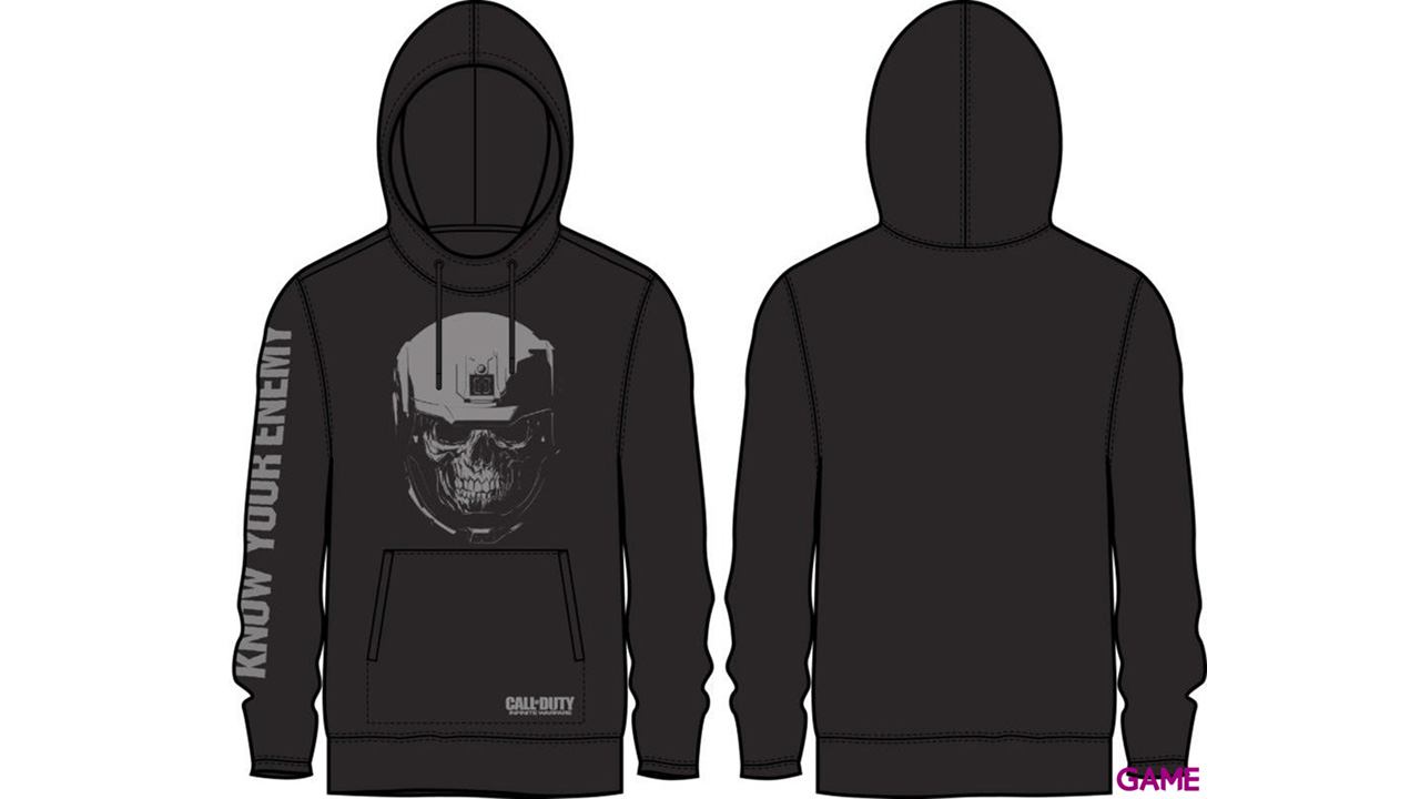 Sudadera Capucha COD IW Know your Enemy Talla M