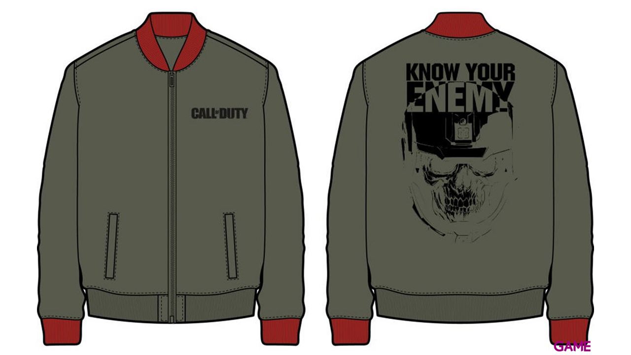Bomber COD IW Know your Enemy Talla L