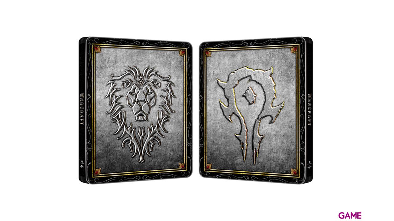 Warcraft El Origen BD Metal 2 Discos
