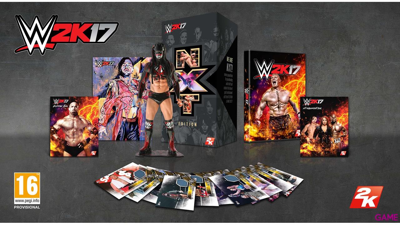 WWE 2K17 Edicion Coleccionista NXT