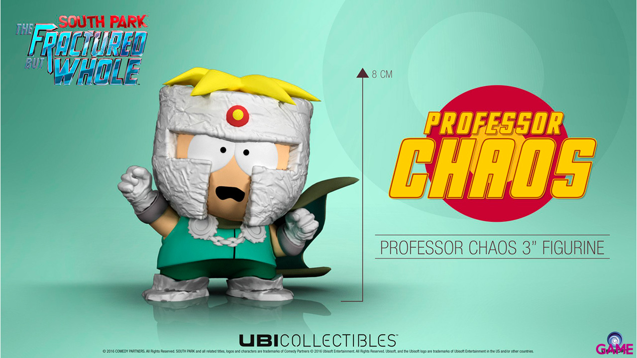 South Park Tfbw 3'' Mini Figurine Prof Chaos Merch