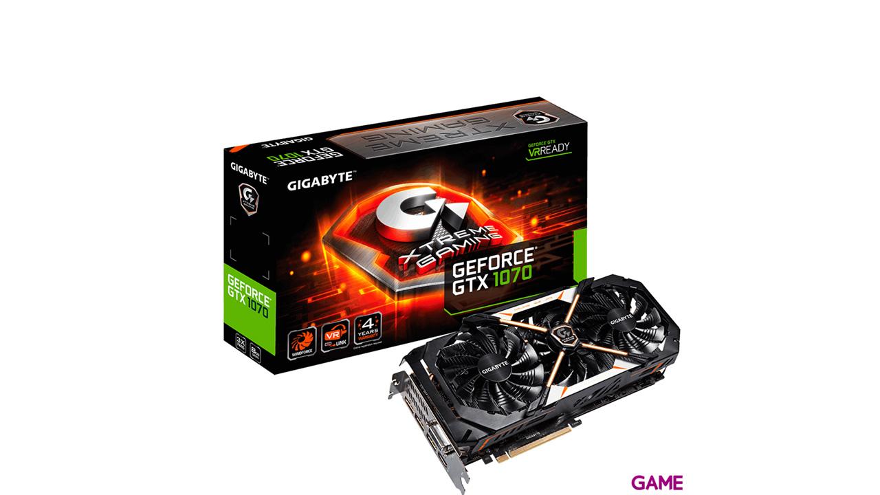Gigabyte GeForce GTX 1070 Xtreme 8GB