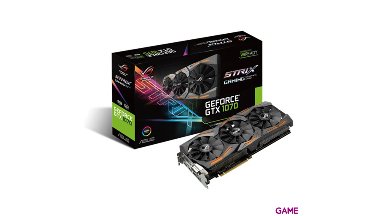 Asus Strix GeForce GTX 1070 8G