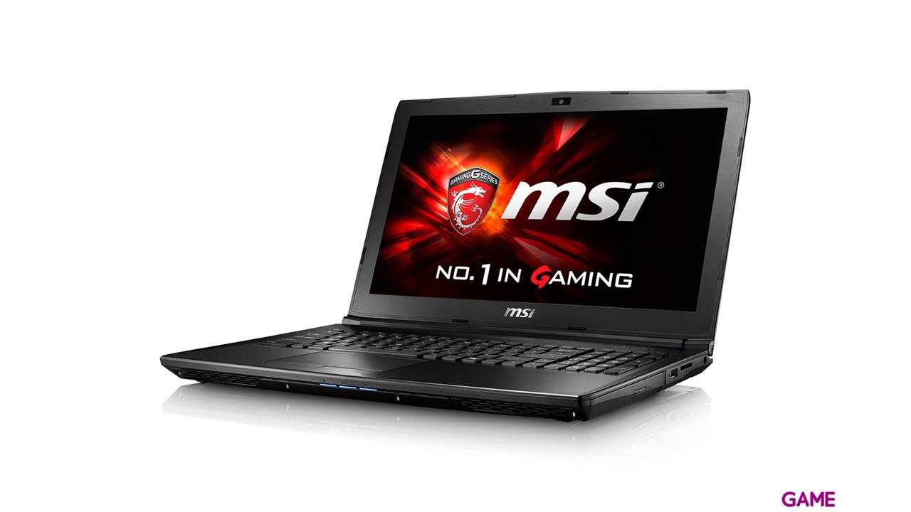 MSI GL62 6QF-1229XES - i7-6700 - GTX 960M - 8GB - 1TB HDD + 256GB SSD - 15.6'' - FreeDOS