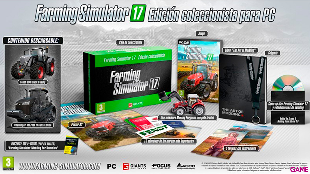 Farming Simulator 17 Collector´s Edition