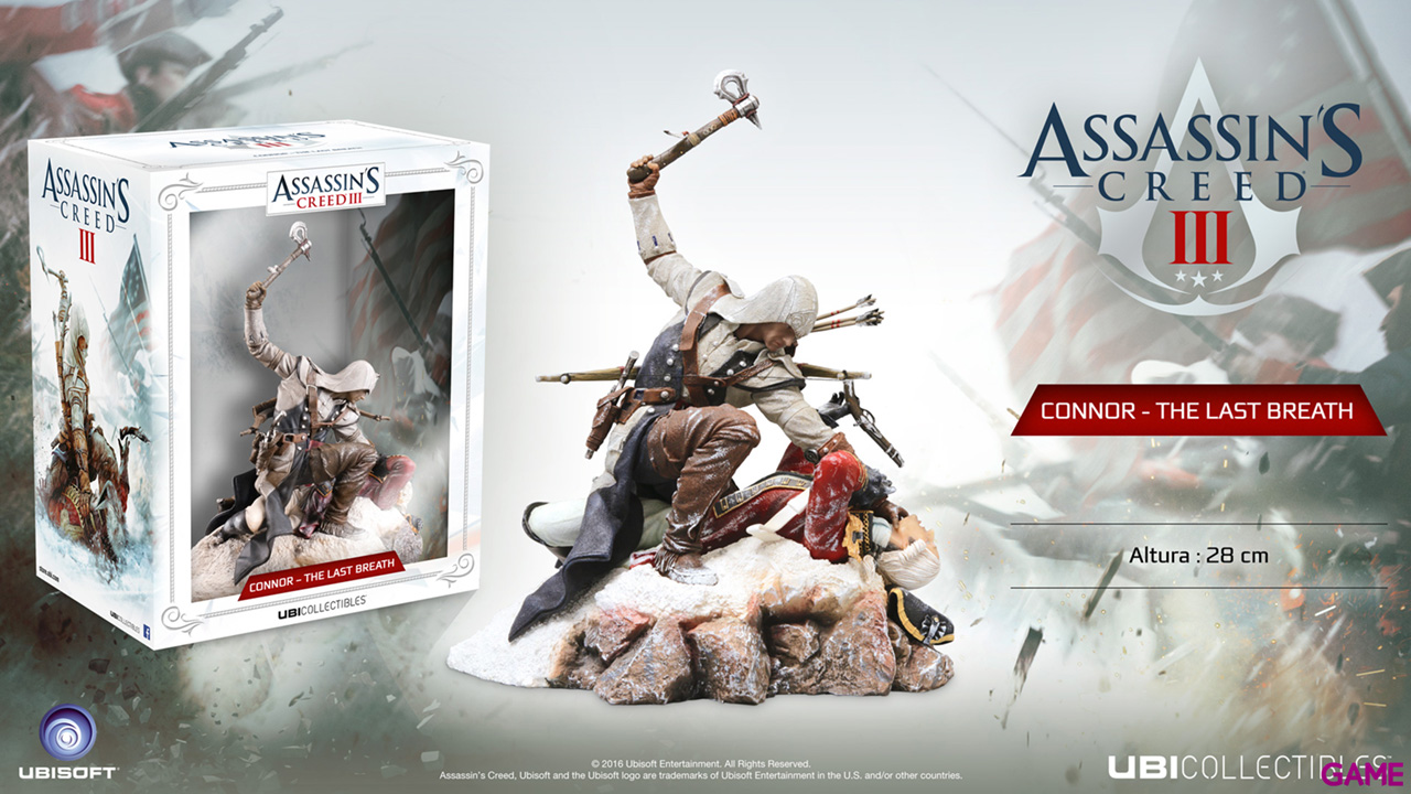 Figura Assassin´s Creed Connor The Last Breath