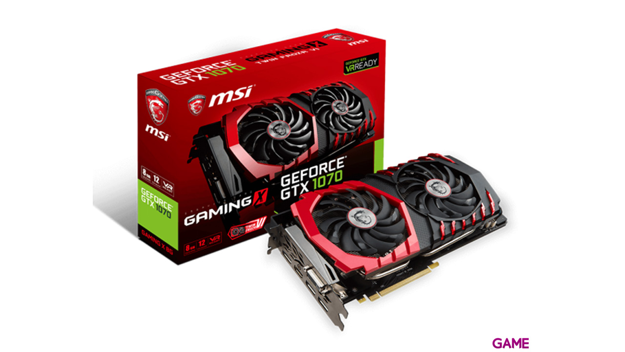 MSI GeForce GTX1070 Gaming 8GB