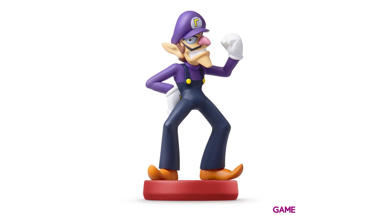 Figura amiibo Waluigi - Colección Mario
