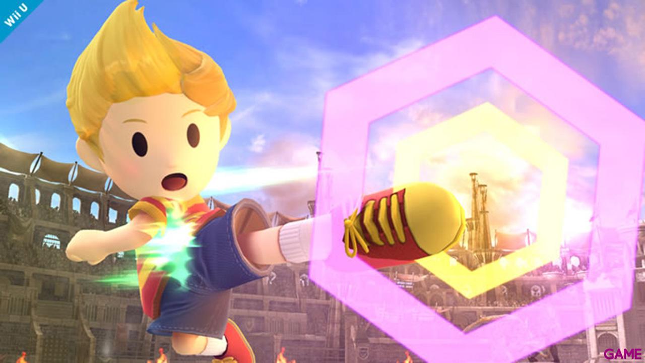 Super Smash Bros Luchador Lucas - Wii U