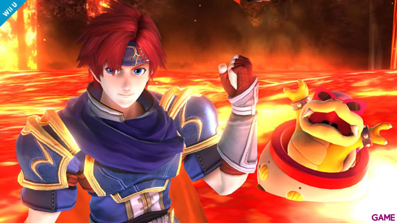 Super Smash Bros Luchador Roy - Wii U
