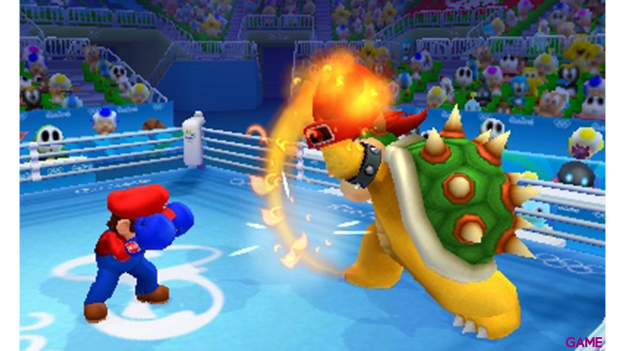 Mario & Sonic en los Juegos Olímpico: Río 2016 - 3DS