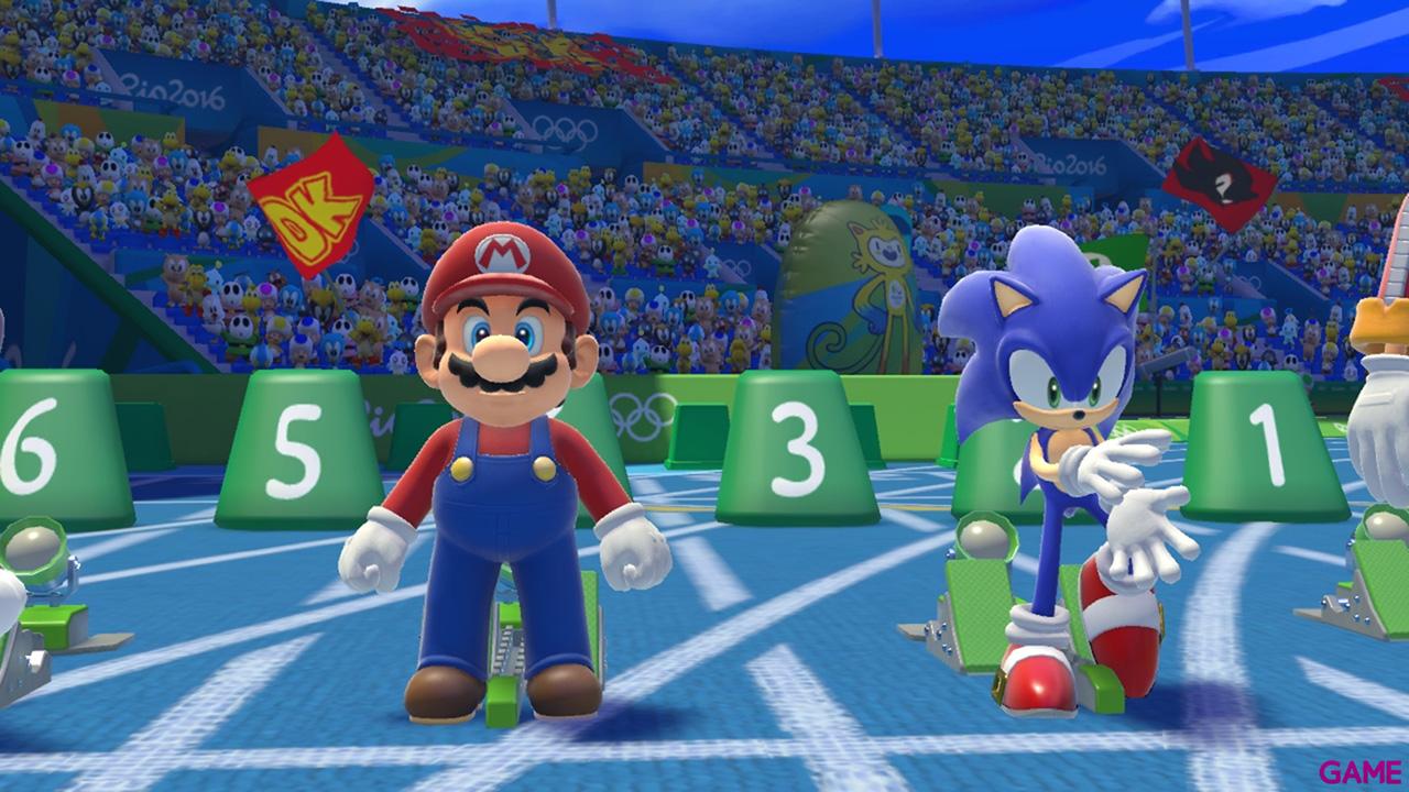 Mario & Sonic en los Juegos Olímpicos: Río 2016 - Wii U
