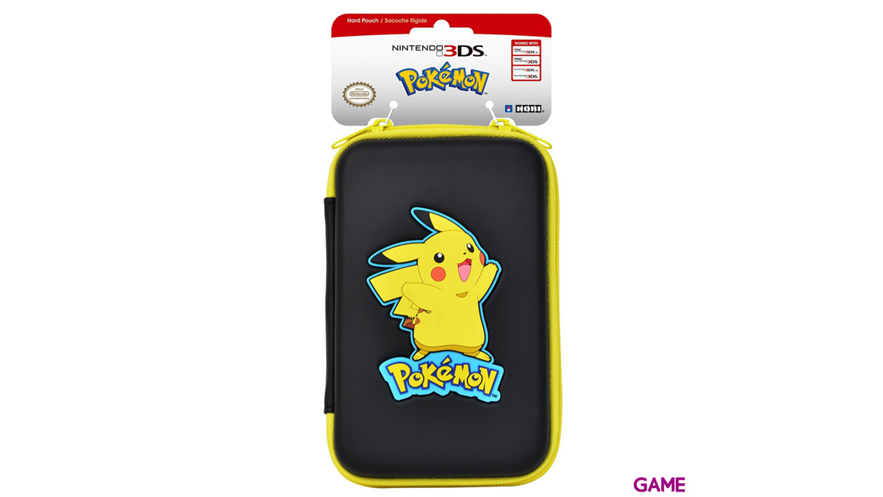 Funda Rígida Pikachu 3DS-New3DS