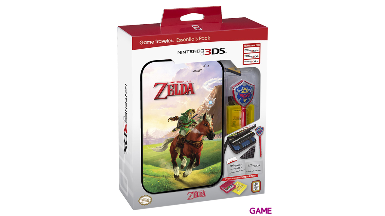 Game Traveller Pack ZEP25 New3DSXL -Licencia Oficial-