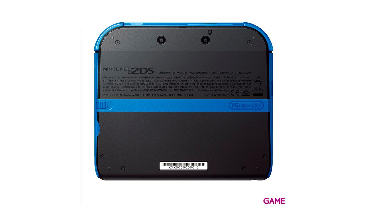 Nintendo 2DS Azul + Yo-Kai Watch (Preinstalado)