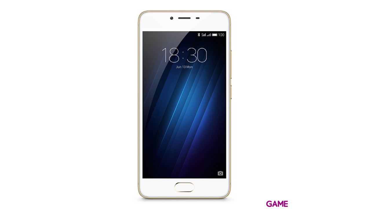 """Smartphone Meizu M3S 5"""" Octa Core 2Gb+16Gb 13Mpx 4G Gold"""