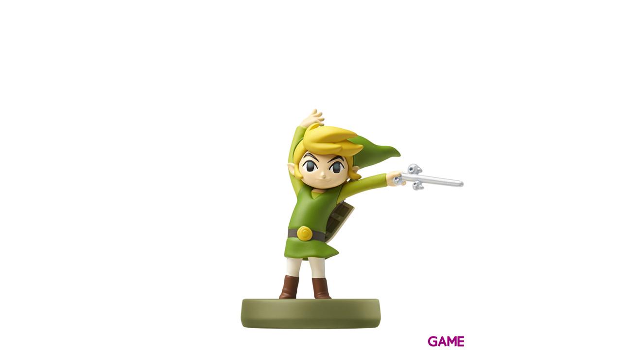 Figura amiibo Link Wind Waker - Colección Zelda