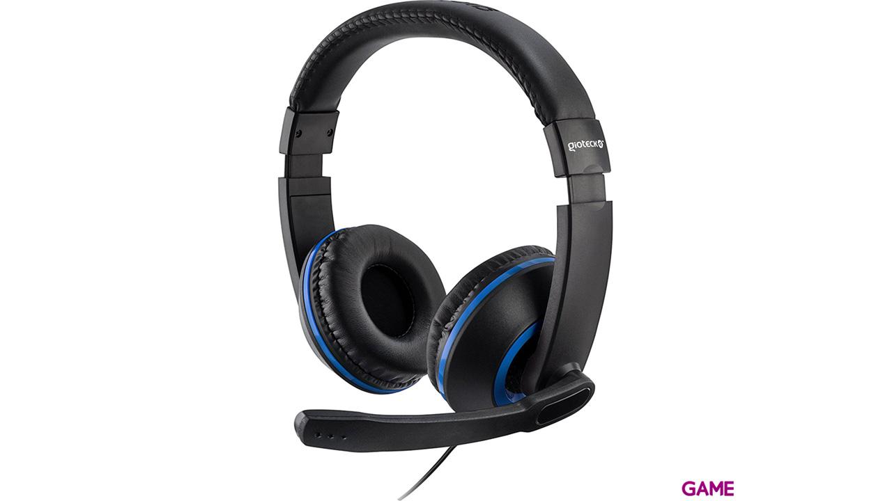 Auriculares Gioteck XH100 Azul PS4-PC