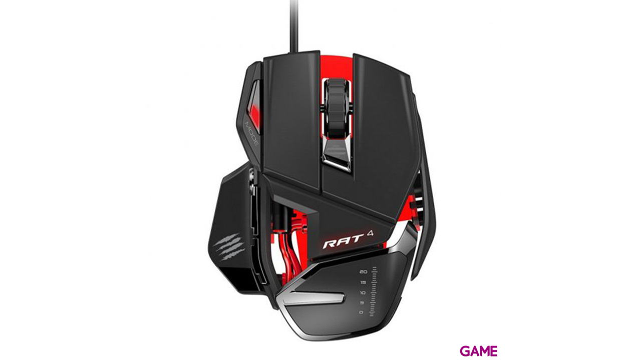 Mad Catz RAT4 - Ratón Gaming