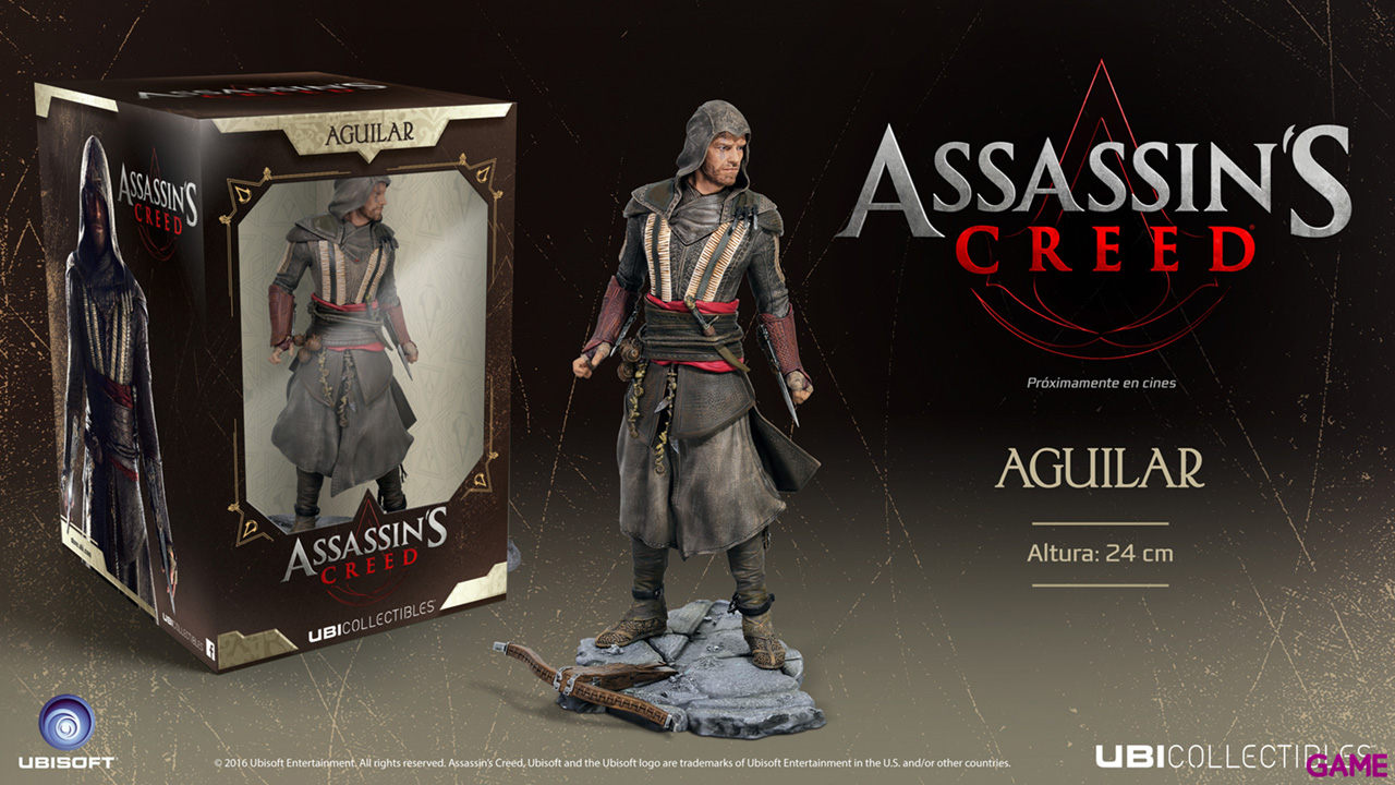Assassin's Creed Movie Aguilar (Michael Fassbender)