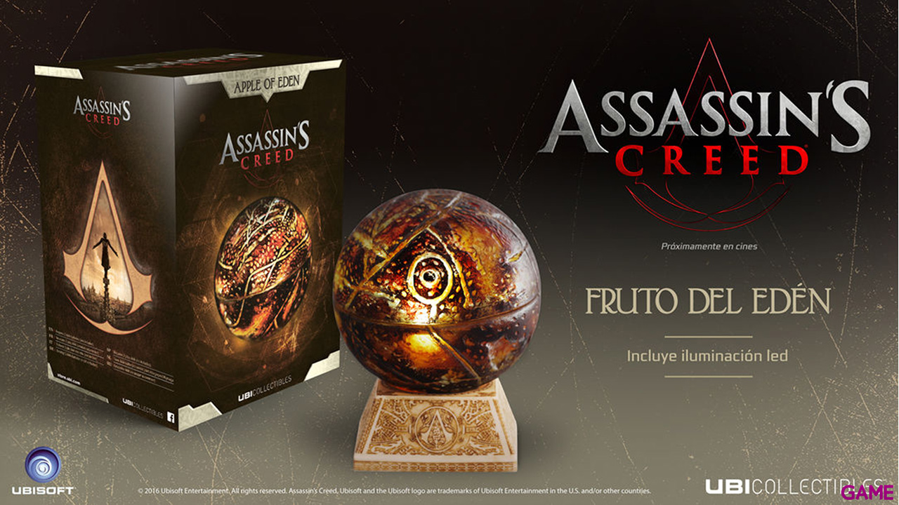 Assassin's Creed Movie Apple Of Eden Replica Life-size