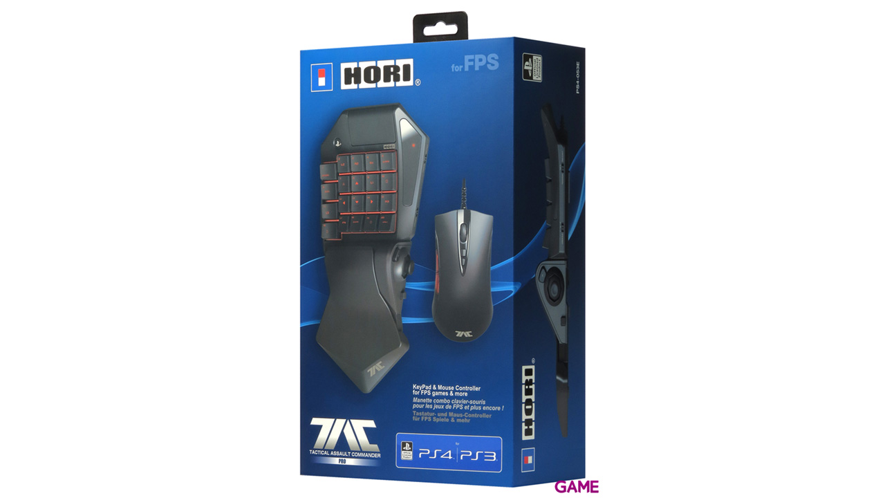 Tactical Assault Commander 4 Pro Hori Teclado+Ratón PS4/PS3/PC