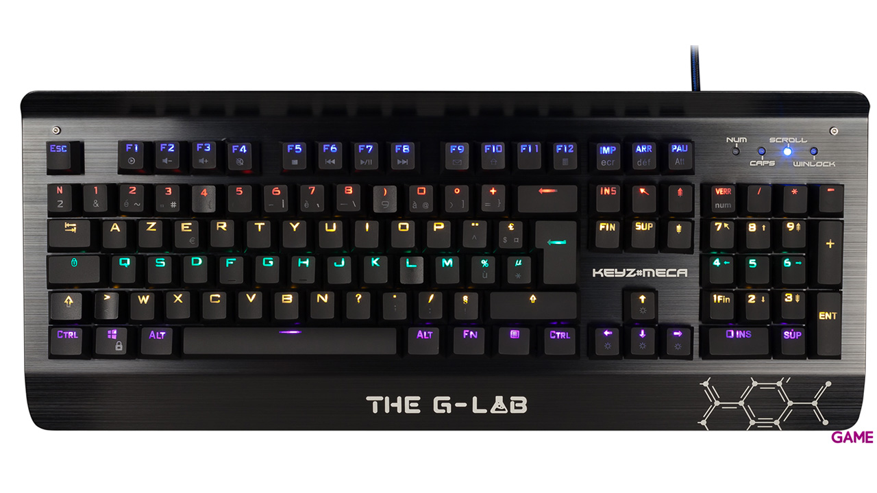 The G-Lab Keyz Meca Switch Blue