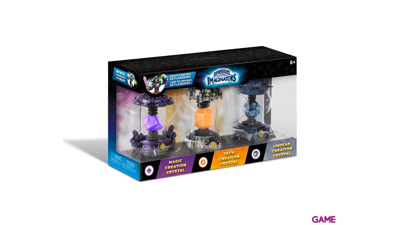 Pack Skylanders Imaginators 3 Cristales: Magia - Tecnología - Muertos