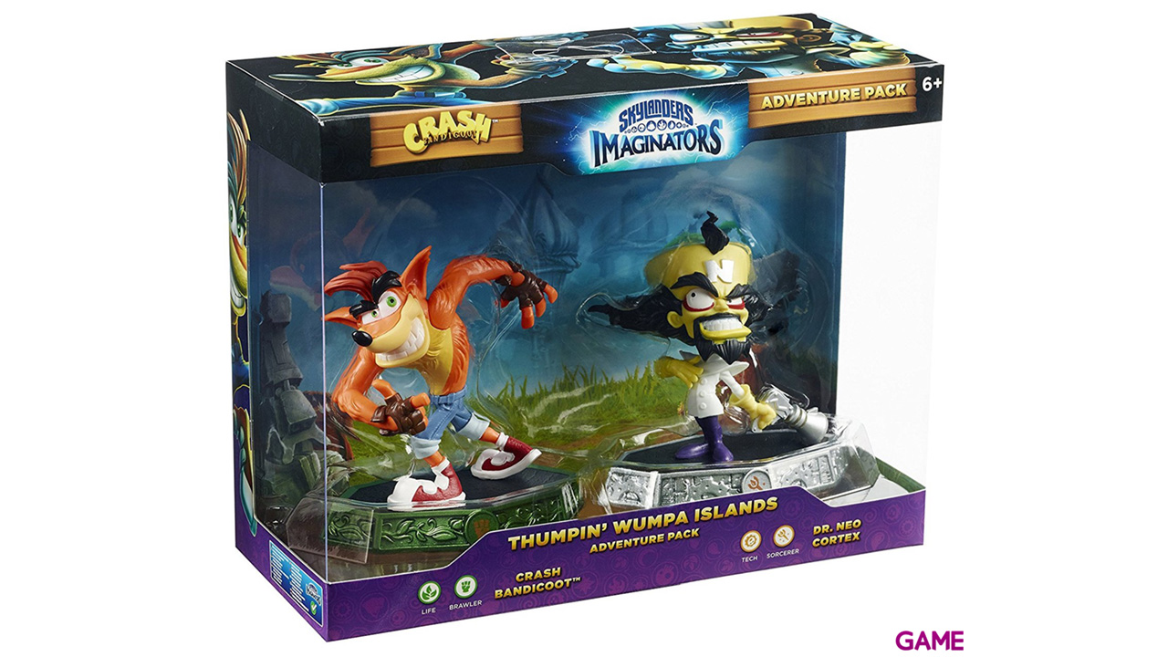 Skylanders Imaginators Crash Expansion Pack: Crash Bandicoot-Dr. Neo Cortex