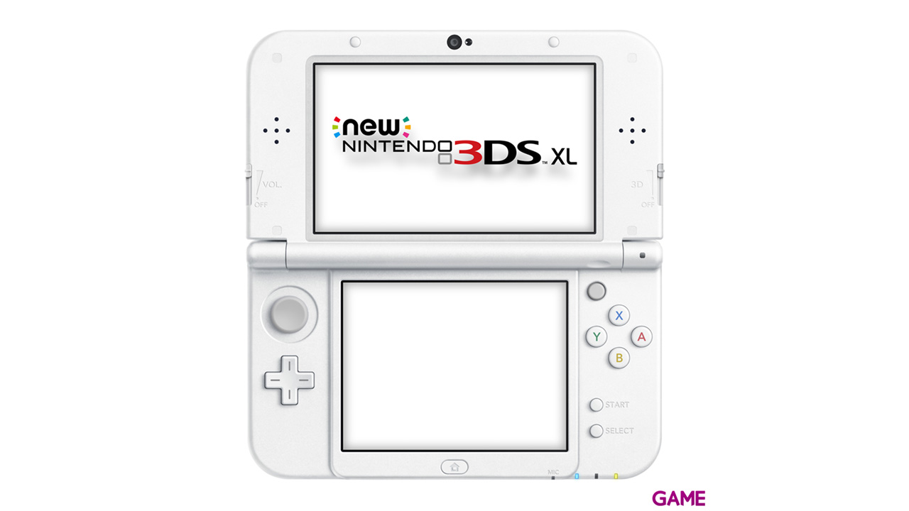 New Nintendo 3DS XL Blanco Perla