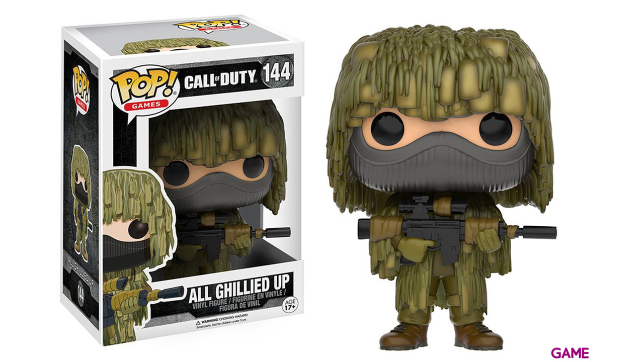 Figura Pop Call of Duty: All Ghillied Up