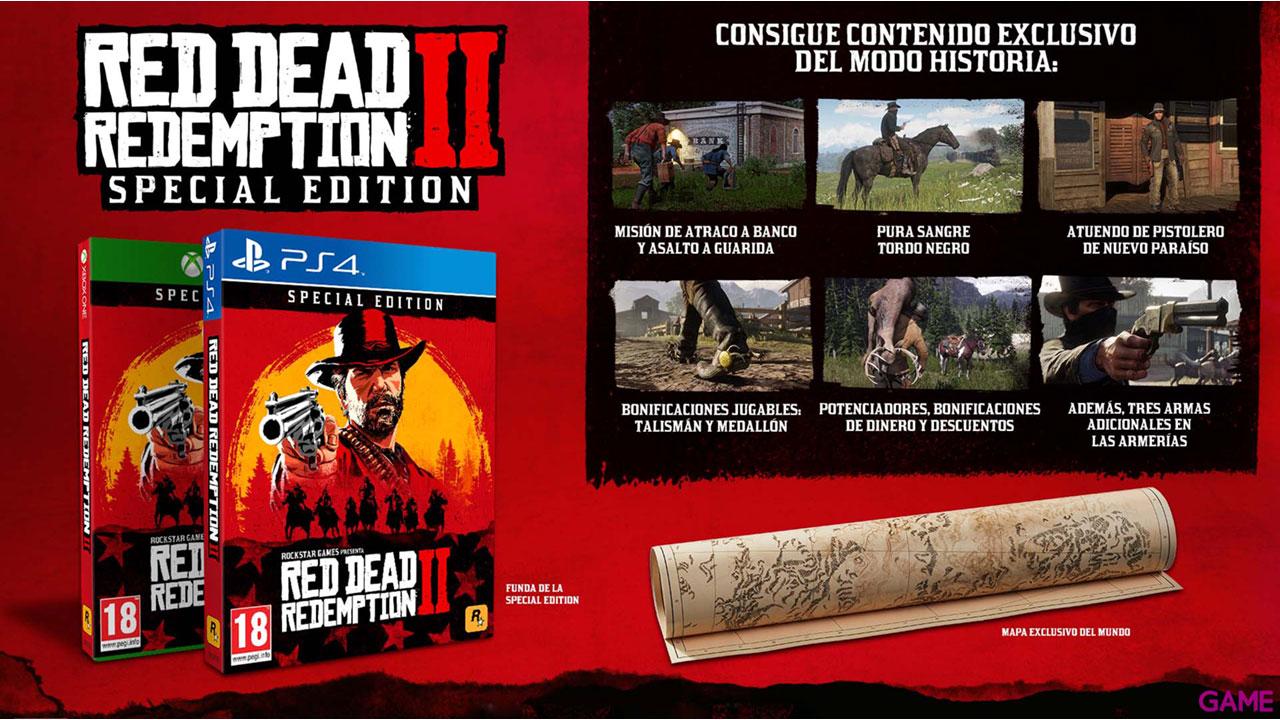 Red Dead Redemption II Edición Especial