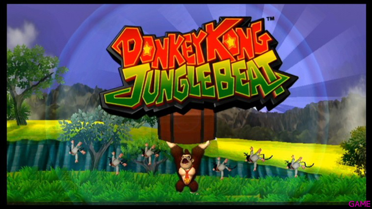 Donkey Kong Jungle Beat - Wii U