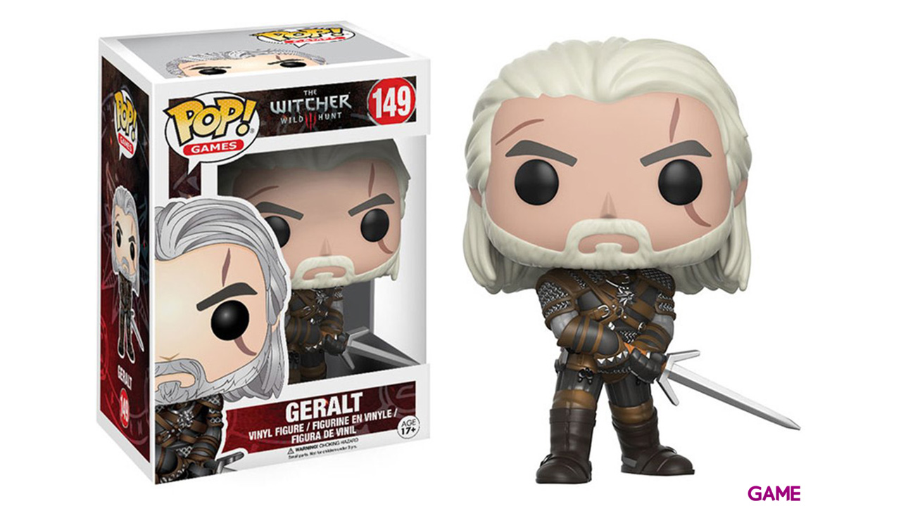 Figura Pop The Witcher III: Geralt